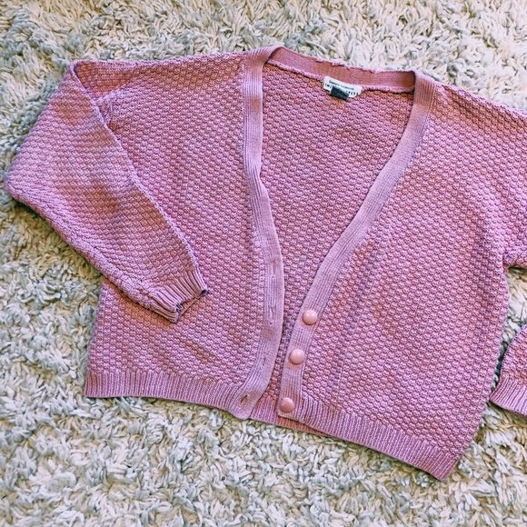 Vintage Sweaters - Vintage Limited Express Bubble Gum Pink Sweater
